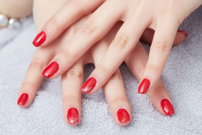 Galerie Onglerie Vernis rouge